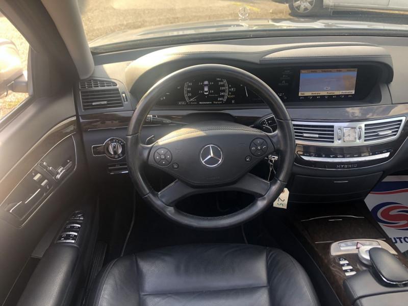 Mercedes Classe S 400 (W221) 400 HYBRID L Gris occasion à Thiverval-Grignon - photo n°9