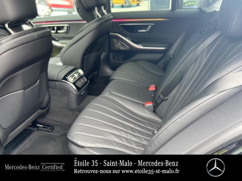 Mercedes Classe S 400 400 d 330ch AMG Line 4Matic 9G-Tronic Noir occasion à SAINT-MALO - photo n°11