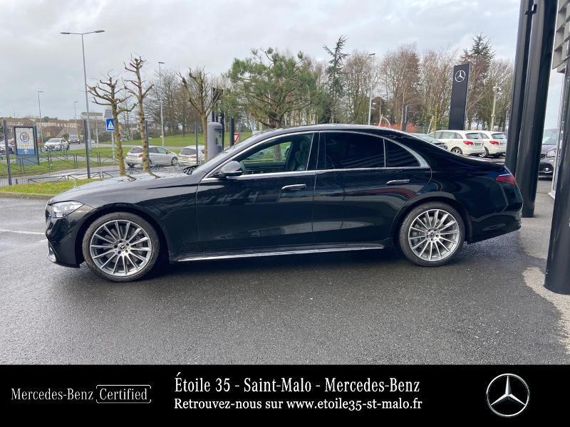 Mercedes Classe S 400 400 d 330ch AMG Line 4Matic 9G-Tronic Noir occasion à SAINT-MALO - photo n°2