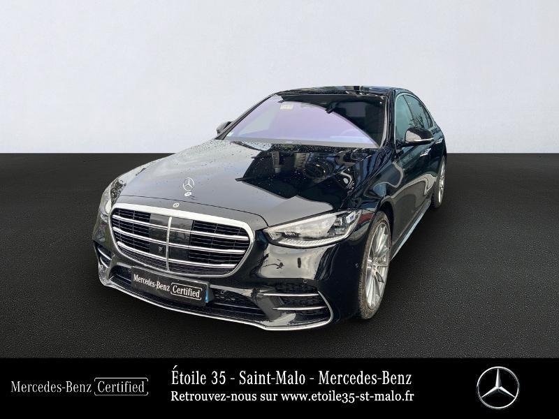 Mercedes Classe S 400 400 d 330ch AMG Line 4Matic 9G-Tronic Noir occasion à SAINT-MALO