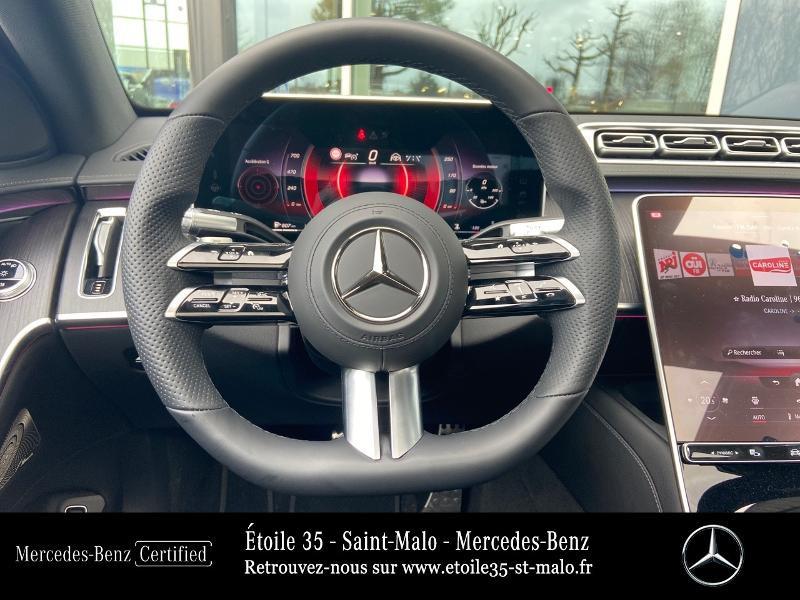 Mercedes Classe S 400 400 d 330ch AMG Line 4Matic 9G-Tronic Noir occasion à SAINT-MALO - photo n°7