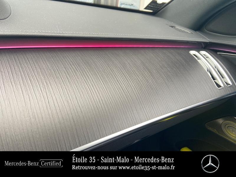 Mercedes Classe S 400 400 d 330ch AMG Line 4Matic 9G-Tronic Noir occasion à SAINT-MALO - photo n°20