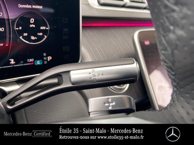 Mercedes Classe S 400 400 d 330ch AMG Line 4Matic 9G-Tronic Noir occasion à SAINT-MALO - photo n°10