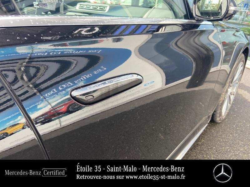 Mercedes Classe S 400 400 d 330ch AMG Line 4Matic 9G-Tronic Noir occasion à SAINT-MALO - photo n°17