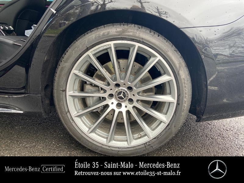 Mercedes Classe S 400 400 d 330ch AMG Line 4Matic 9G-Tronic Noir occasion à SAINT-MALO - photo n°13