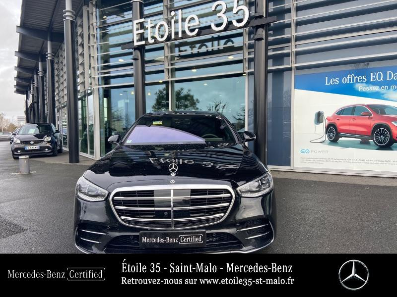 Mercedes Classe S 400 400 d 330ch AMG Line 4Matic 9G-Tronic Noir occasion à SAINT-MALO - photo n°5
