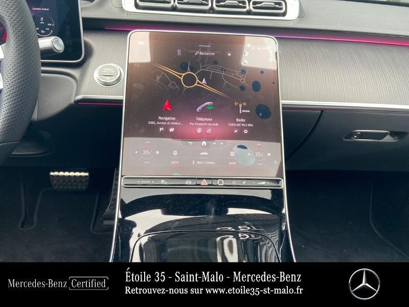 Mercedes Classe S 400 400 d 330ch AMG Line 4Matic 9G-Tronic Noir occasion à SAINT-MALO - photo n°8