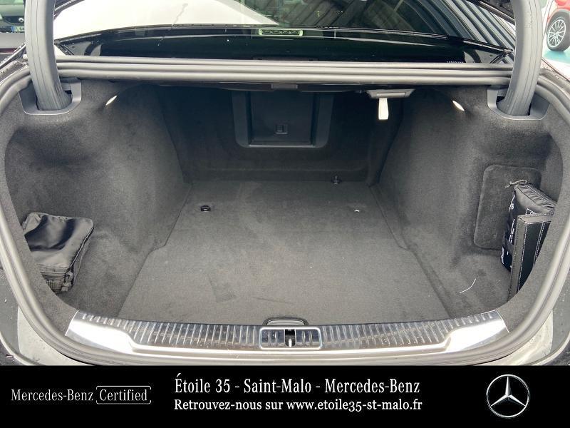 Mercedes Classe S 400 400 d 330ch AMG Line 4Matic 9G-Tronic Noir occasion à SAINT-MALO - photo n°12
