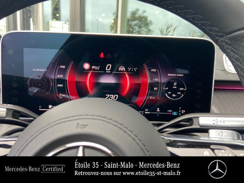 Mercedes Classe S 400 400 d 330ch AMG Line 4Matic 9G-Tronic Noir occasion à SAINT-MALO - photo n°9