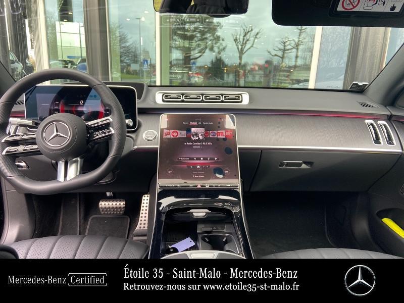 Mercedes Classe S 400 400 d 330ch AMG Line 4Matic 9G-Tronic Noir occasion à SAINT-MALO - photo n°6
