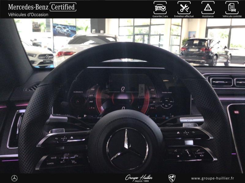 Mercedes Classe S 400 400 d 330ch AMG Line 4Matic 9G-Tronic Noir occasion à Gières - photo n°9