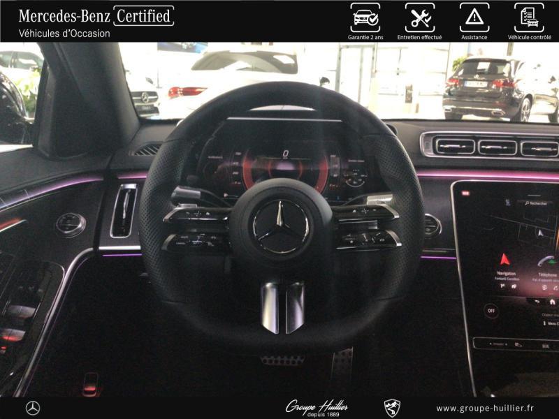Mercedes Classe S 400 400 d 330ch AMG Line 4Matic 9G-Tronic Noir occasion à Gières - photo n°7