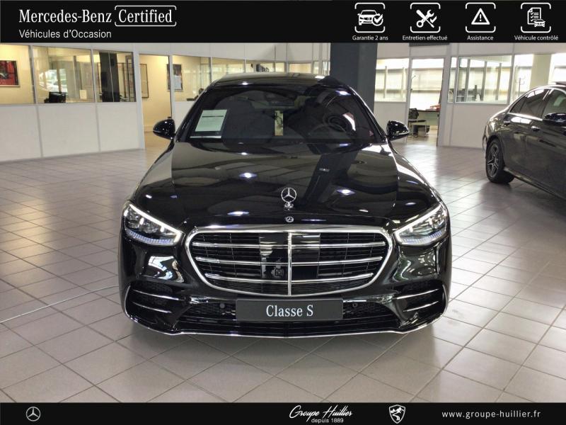 Mercedes Classe S 400 400 d 330ch AMG Line 4Matic 9G-Tronic Noir occasion à Gières - photo n°5