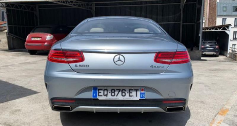 Mercedes Classe S 500 (C217) 500 4MATIC 9G-TRONIC Gris occasion à REZE - photo n°4