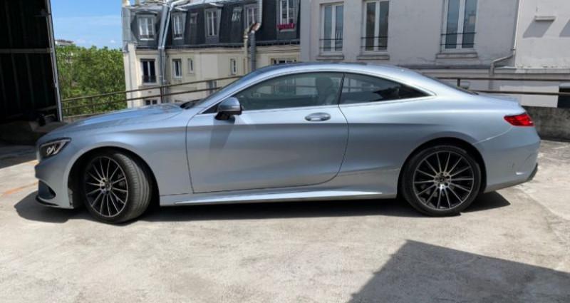 Mercedes Classe S 500 (C217) 500 4MATIC 9G-TRONIC Gris occasion à REZE - photo n°2