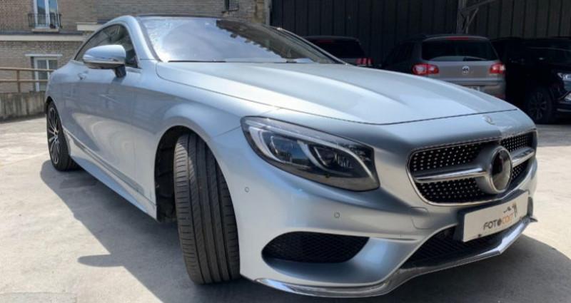 Mercedes Classe S 500 (C217) 500 4MATIC 9G-TRONIC Gris occasion à REZE - photo n°7