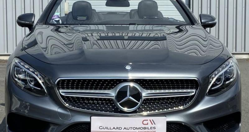 Mercedes Classe S 500 500 4.7 V8 BI-TURBO 455ch 9G-TRONIC Gris occasion à PLEUMELEUC - photo n°2