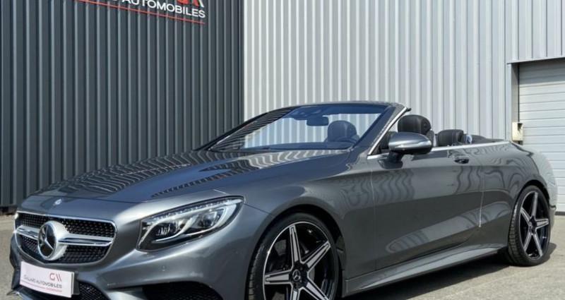 Mercedes Classe S 500 500 4.7 V8 BI-TURBO 455ch 9G-TRONIC Gris occasion à PLEUMELEUC