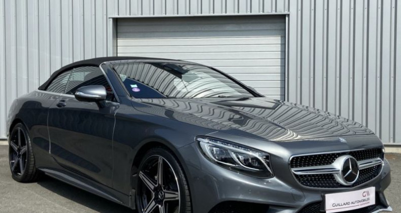 Mercedes Classe S 500 500 4.7 V8 BI-TURBO 455ch 9G-TRONIC Gris occasion à PLEUMELEUC - photo n°6