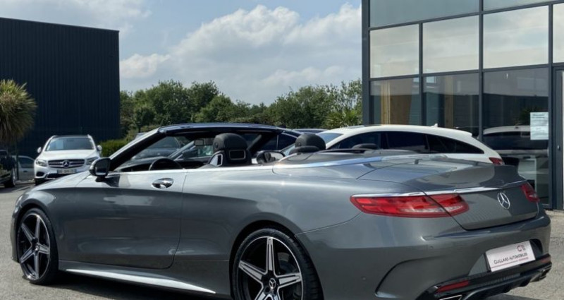 Mercedes Classe S 500 500 4.7 V8 BI-TURBO 455ch 9G-TRONIC Gris occasion à PLEUMELEUC - photo n°7