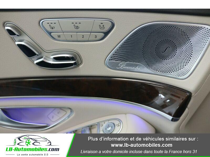 Mercedes Classe S 500 500 Marron occasion à Beaupuy - photo n°8