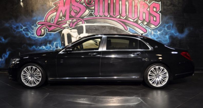 Mercedes Classe S 500 500L MAYBACH Noir occasion à CANNES - photo n°2