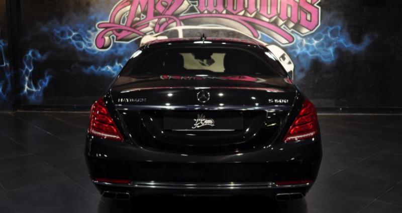 Mercedes Classe S 500 500L MAYBACH Noir occasion à CANNES - photo n°3