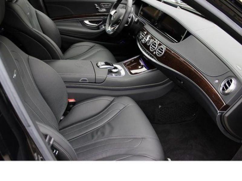 Mercedes Classe S 63 AMG 585 ch Noir occasion à Beaupuy - photo n°3