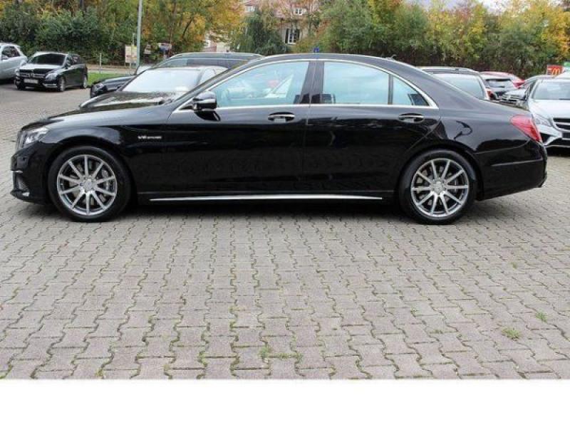 Mercedes Classe S 63 AMG 585 ch Noir occasion à Beaupuy - photo n°7