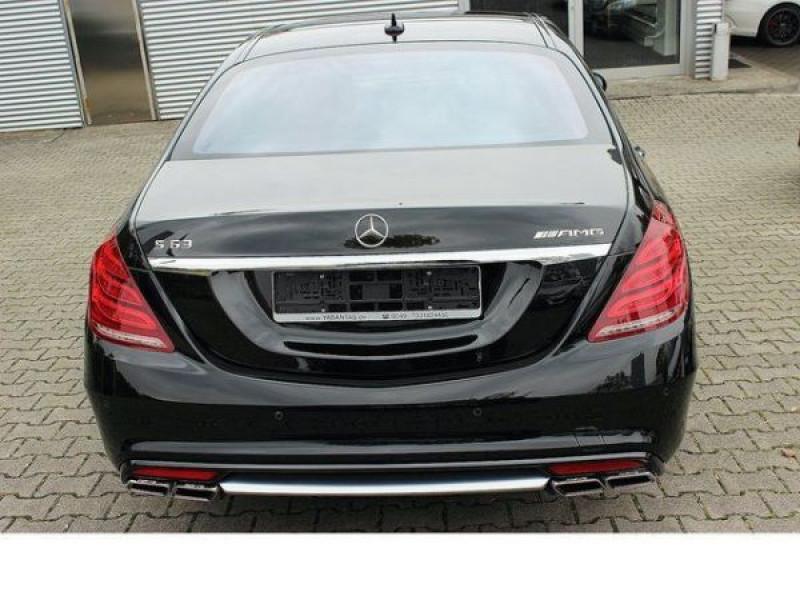 Mercedes Classe S 63 AMG 585 ch Noir occasion à Beaupuy - photo n°8