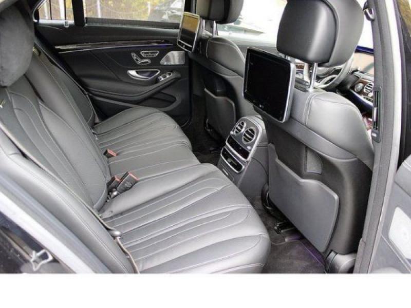 Mercedes Classe S 63 AMG 585 ch Noir occasion à Beaupuy - photo n°4