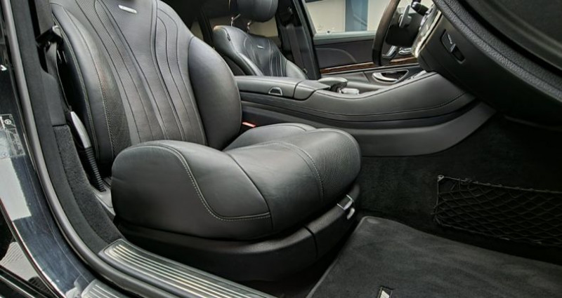 Mercedes Classe S 63s Amg 5.5 V8 Bi-turbo 585ch Noir occasion à MONTBRISON - photo n°6