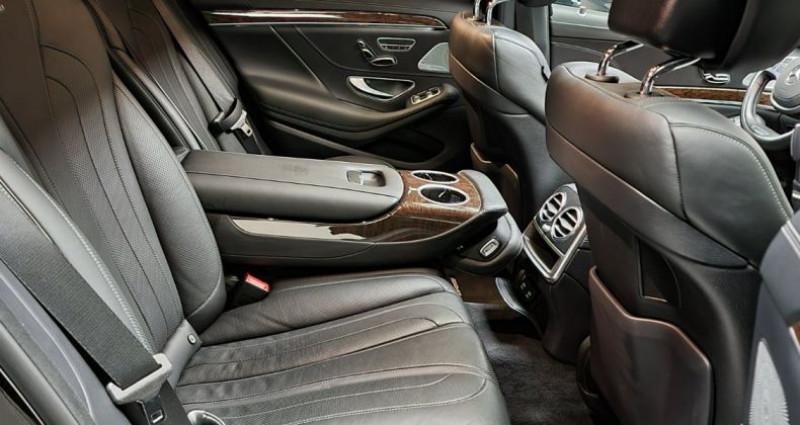 Mercedes Classe S 63s Amg 5.5 V8 Bi-turbo 585ch Noir occasion à MONTBRISON - photo n°7