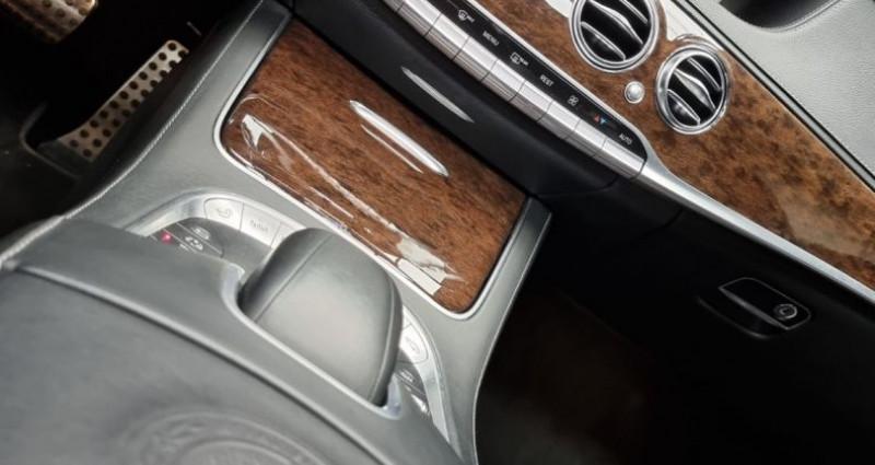 Mercedes Classe S 63s Amg 5.5 V8 Bi-turbo 585ch Noir occasion à MONTBRISON - photo n°4