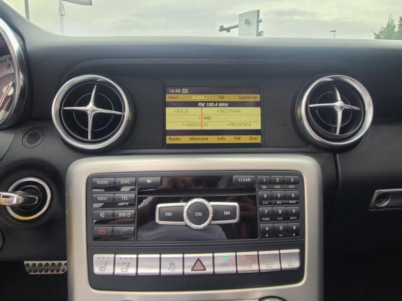 Mercedes Classe SLK 200 (R172) 200 7GTRO+ Noir occasion à Colomiers - photo n°8