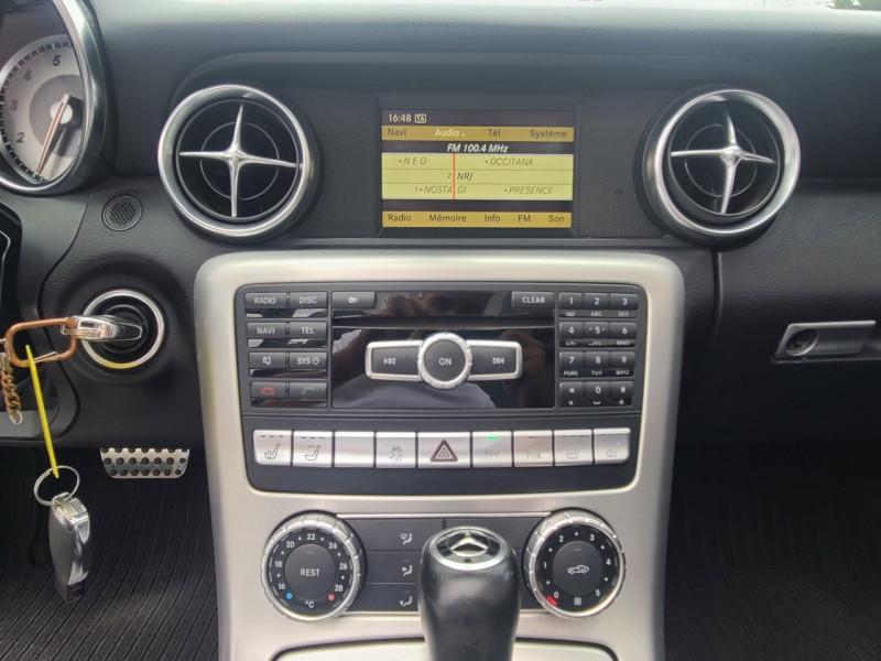 Mercedes Classe SLK 200 (R172) 200 7GTRO+ Noir occasion à Colomiers - photo n°9