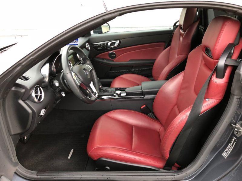 Mercedes Classe SLK 200 200 AMG Gris occasion à Beaupuy - photo n°4