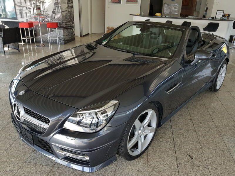 Mercedes Classe SLK 200 200 AMG Gris occasion à Beaupuy