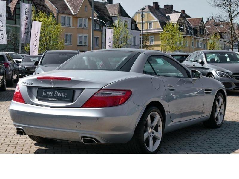 Mercedes Classe SLK 200 200 Argent occasion à Beaupuy - photo n°3
