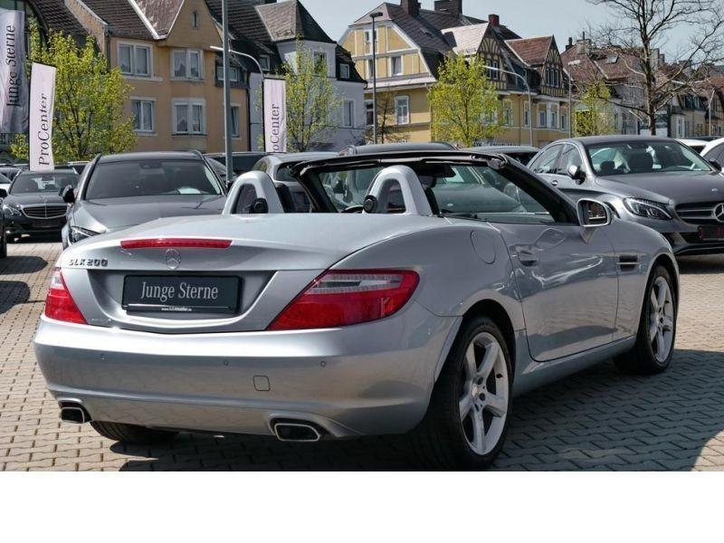 Mercedes Classe SLK 200 200 Argent occasion à Beaupuy - photo n°9