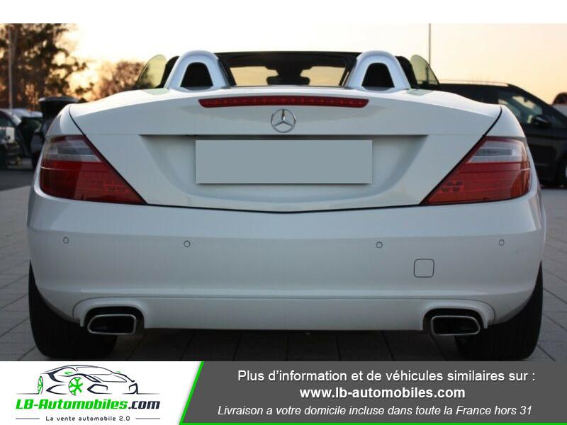 Mercedes Classe SLK 200 200 Blanc occasion à Beaupuy - photo n°9