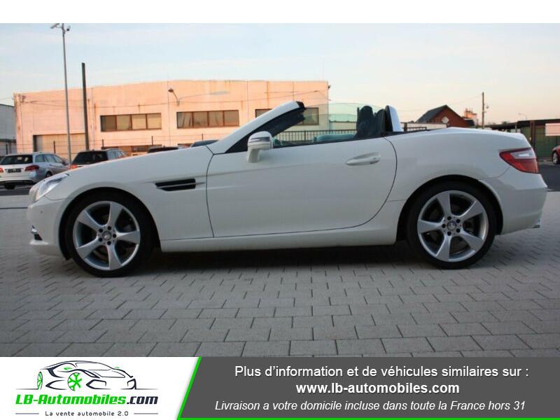 Mercedes Classe SLK 200 200 Blanc occasion à Beaupuy - photo n°8