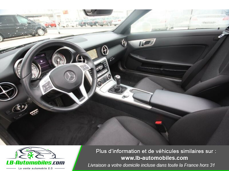Mercedes Classe SLK 200 200 Blanc occasion à Beaupuy - photo n°4