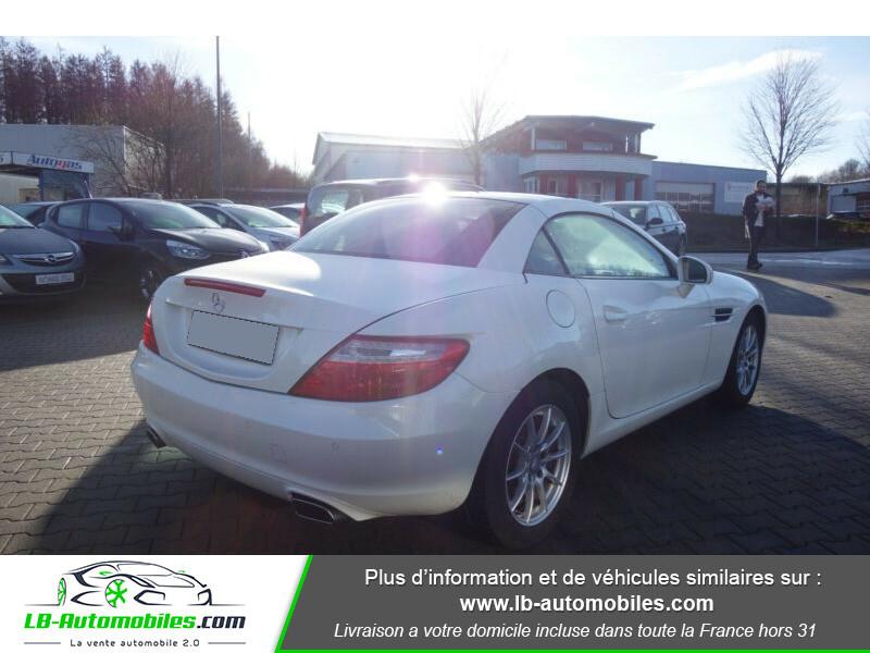 Mercedes Classe SLK 200 200 Blanc occasion à Beaupuy - photo n°3