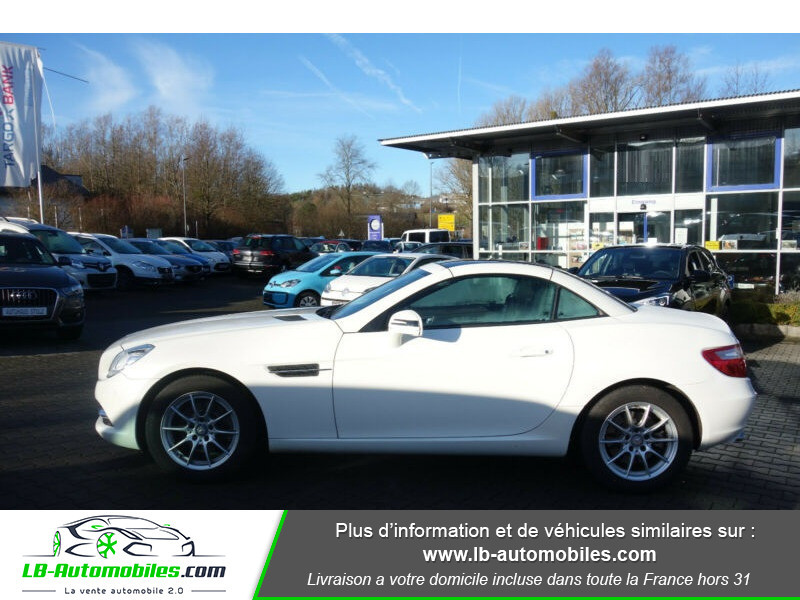 Mercedes Classe SLK 200 200 Blanc occasion à Beaupuy - photo n°11