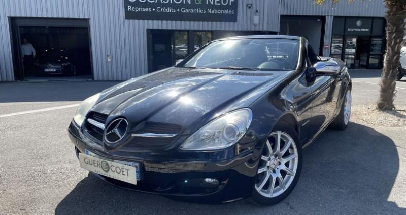 Mercedes Classe SLK 200 CLASSE (R171) 200K BA Noir occasion à GUER - photo n°2