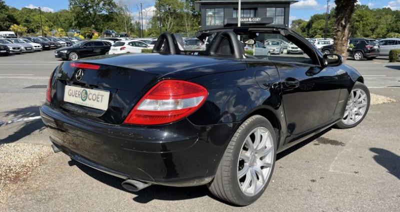 Mercedes Classe SLK 200 CLASSE (R171) 200K BA Noir occasion à GUER - photo n°3