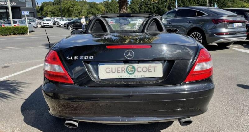 Mercedes Classe SLK 200 CLASSE (R171) 200K BA Noir occasion à GUER - photo n°4