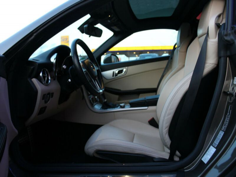 Mercedes Classe SLK 250 250 CDI Gris occasion à Beaupuy - photo n°7