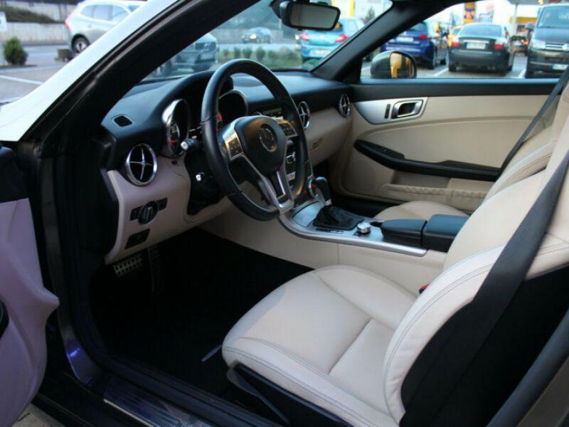 Mercedes Classe SLK 250 250 CDI Gris occasion à Beaupuy - photo n°6